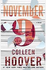 November 9: A Novel Kindle Edition