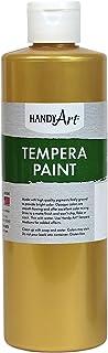 Handy Art Tempera Paint 16 ounce, Metallic Gold