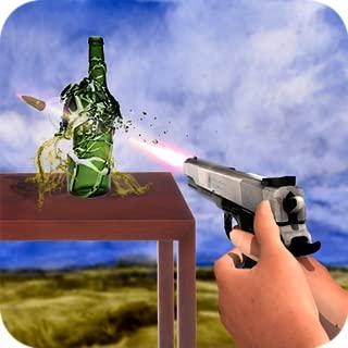 3d bottle shooter game