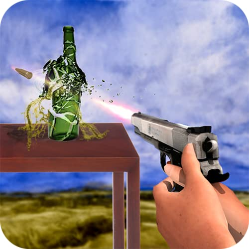 Real Bottle Shooter Smash Hit: Crazy Bottle Shooting Games free for Kids 3D, Glass Breaker Shootout, Sniper Gunshot target Bottle Fire, Extreme Challenge Gun Precision Summer 2018, FPS Bottle Vs Gun Bullet, Armed Forces Expert Shooter Skills