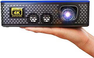 AAXA 4K1 LED Home Theater Projector, 30,000 Hour LEDs, Mercury Free, Native 4K UHD Resolution, Dual HDMI with HDCP 2.2, 15...
