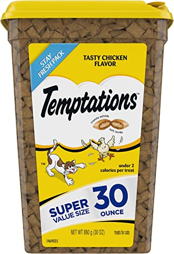 Temptations Classic Crunchy and Soft Cat Treats