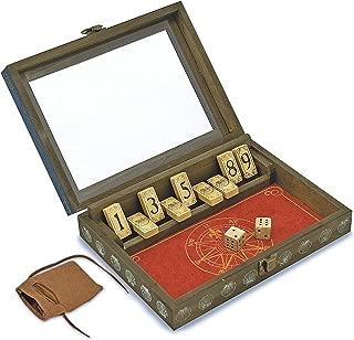 Melissa & Doug Classic Wooden Shut-the-Box Game - 2 Dice
