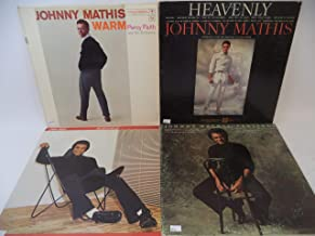 Johnny Mathisd Lot of 4 Vinyl Record Albums You Light Up My Life and more