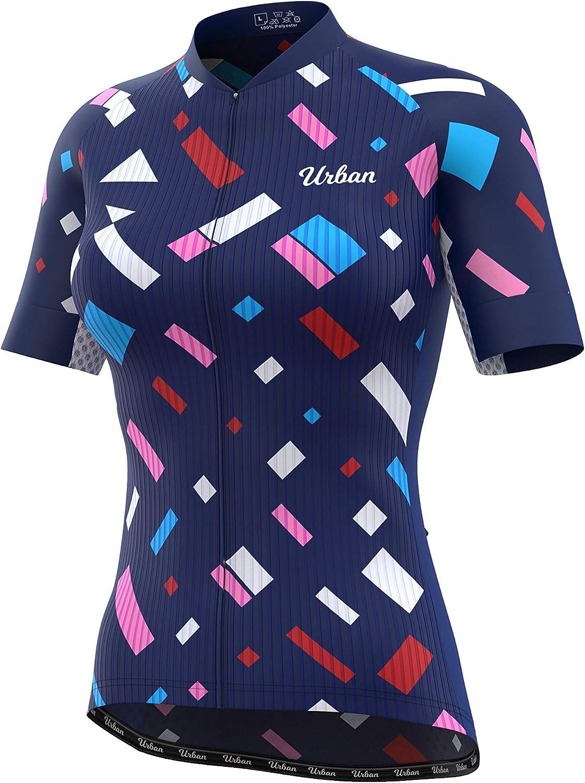 在庫あり Urban Cycling Apparel Women's Jersey Short 超歓迎された Confetti Sleeve