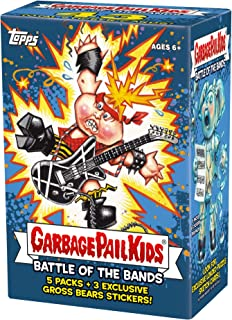 17 Topps Garbage Pail Kids S2 Battle of The Bands Value Box