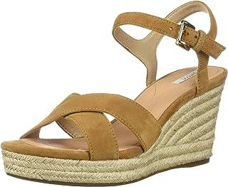 Geox D Soleil A, Sandale compensée Femme