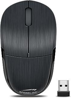 Speedlink JIXSTER Mouse   Kabellose Maus für Desktop oder Notebook   schwarz