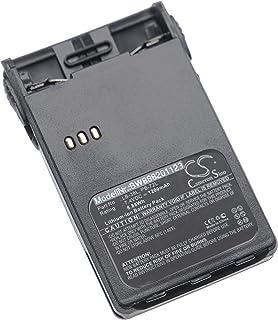 vhbw batería Compatible con Puxing PX-328, PX-728, PX-777, PX-777 Plus, PX-888 Radio (1200mAh, 7.4V, Li-Ion) + Pinza