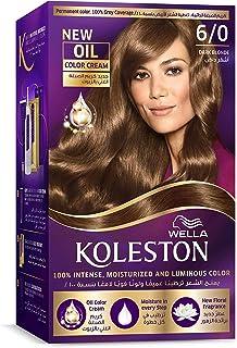 Wella Koleston Permanent Hair Color Kit 6/0 Dark Blonde