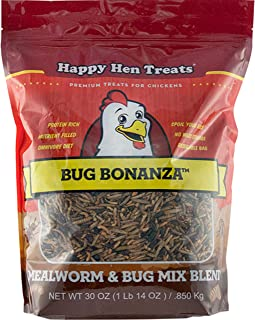 Durvet - Happy Hen D-Bug Bonanza-Chicken Treat 30 Oz