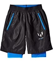 adidas Kids - Messi Woven Shorts (Little Kids/Big Kids)