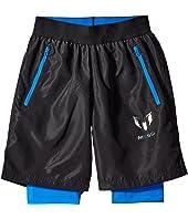 adidas Kids - Messi Woven Shorts (Little Kids/Big Kids)
