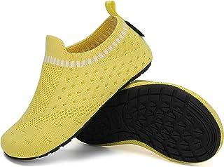 SAGUARO Zapatillas de Estar por Casa para Niños Zapatillas de casa Ligeras Zapatos de Punto Gr.20-37