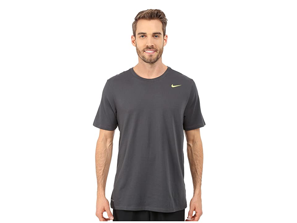 Nike Dri-FITtm Version 2.0 T-Shirt (Anthracite/Anthracite/Volt) Men