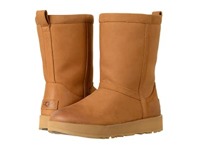 UGG Classic Short L Waterproof (Chestnut) Women