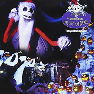 Tokyo Disneyland Haunted Mansion-Holiday Night
