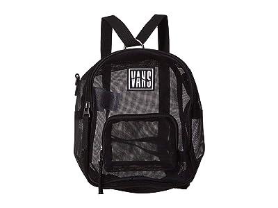 Vans Two Timing Mesh Backpack (Black) Backpack Bags