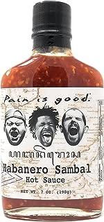 Pain is Good Habanero Sambal Hot Sauce - 7 oz
