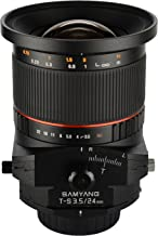 Samyang Tilt-Shift SYTS24-N 24mm f/3.5 Tilt Shift lens for Nikon