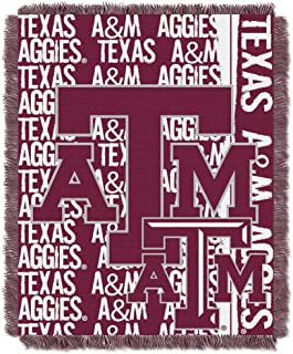Northwest The Company Texas A&M Aggies Double Play Woven Jacquard Throw Blanket