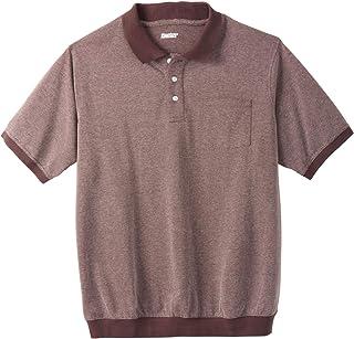3b9824d2bc5 KingSize Men s Big   Tall Banded Bottom Pocket Pique Polo Shirt