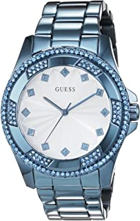 Guess Pinwheel Women's White Dial Stainless Steel Band Watch - W0702L1