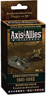 Wizards of the Coast Axis and Allies Miniatures Counter Offensive 1941-1943 an Axis and Allies Miniatures Booster Game Expansion