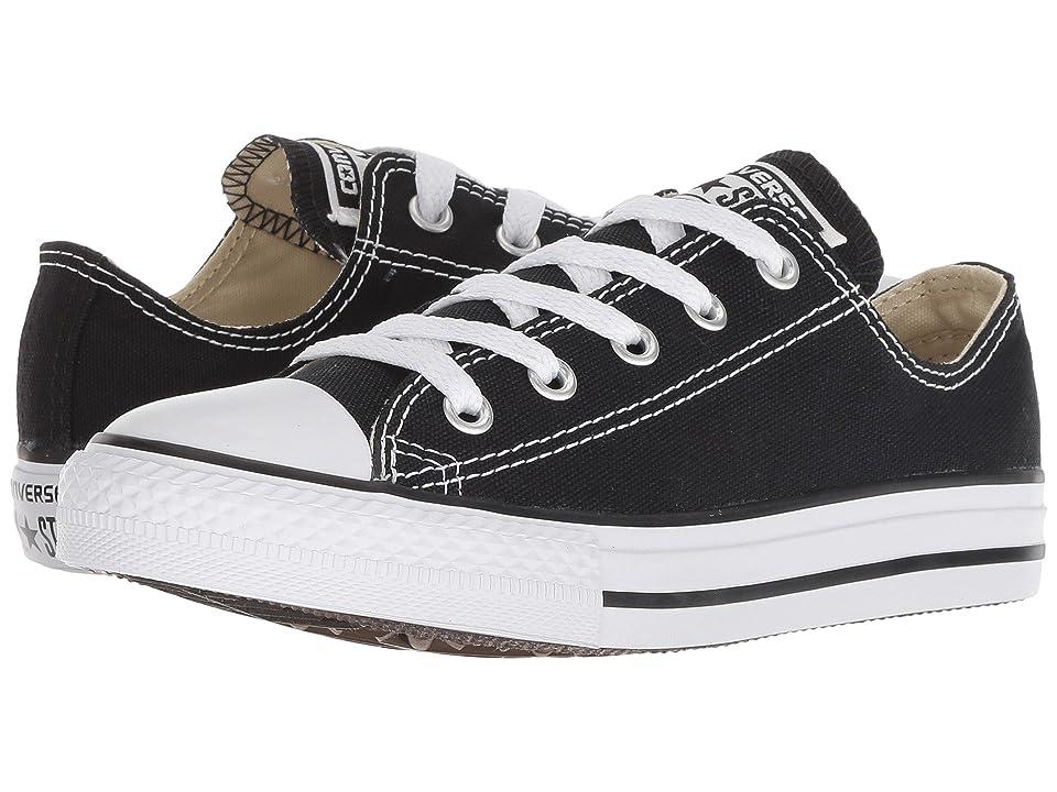 Converse Kids Chuck Taylor(r) All Star(r) Core Ox (Little Kid) (Black) Kids Shoes
