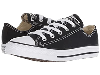 Converse Kids Chuck Taylor(r) All Star(r) Core Ox (Little Kid) (Black) Kids Shoes