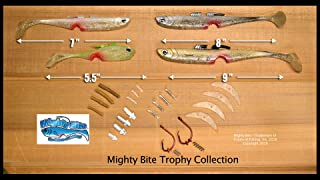 Mighty Bite Trophy Collection Kit - Large Lures for Big Fish!
