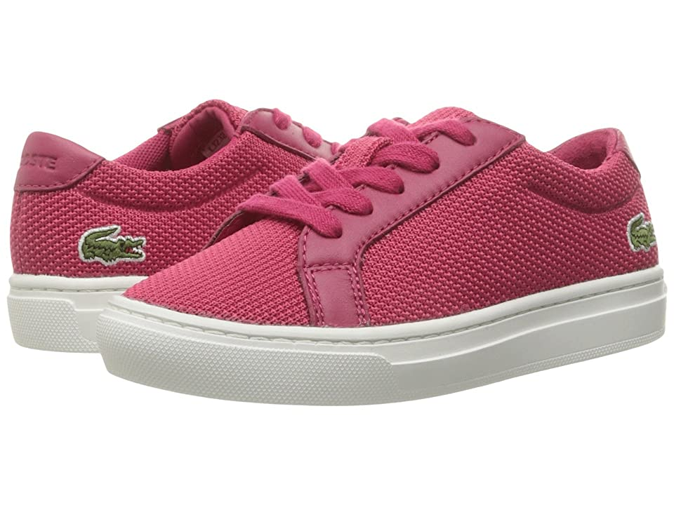 Lacoste Kids L.12.12 BL 2 CAC (Little Kid) (Dark Pink) Kid