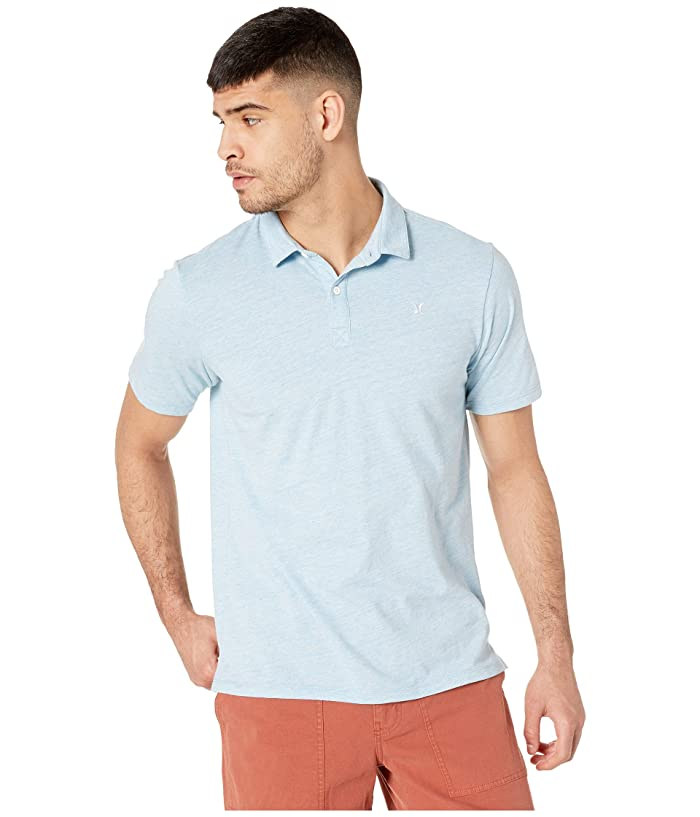Hurley Dri-Fit Coronado Polo (Lite Blue Heather) Men