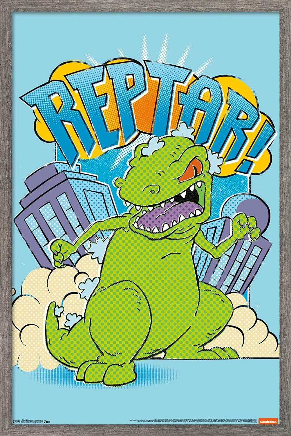 Trends International Nickelodeon Rugrats - At the price of National uniform free shipping surprise Poster Wall Reptar 1