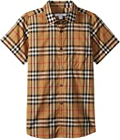 Burberry Kids - Fred Pocket Short Sleeve Top (Little Kids/Big Kids)