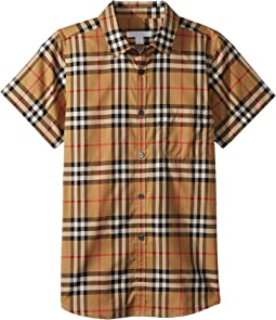 Fred Pocket Short Sleeve Top (Little Kids/Big Kids)