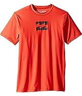 Billabong Kids - All Day Wave Short Sleeve LF Wetshirt (Big Kids)