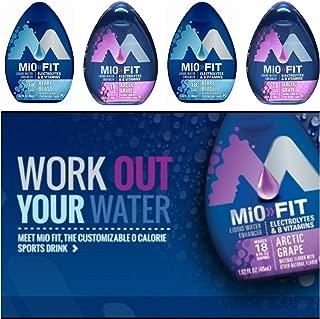 Mio Water Enhancement - Variety (Pack of 4) (Mio Fit Variety)