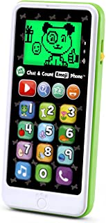 LeapFrog Chat and Count Emoji Phone, White, Great Gift for Kids, Toddlers, Toy for Boys and Girls, Ages 2, 3, 4, 5