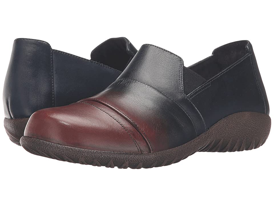 Naot Miro (Ink/Brown Leather) Women