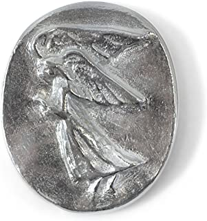 Earth Therapy Guardian Angel Pocket Coin with Serenity Prayer Card-Token Charm for Wallet or Car