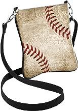 Snaptotes Baseball Stitch Design Hipster Crossbody Bag