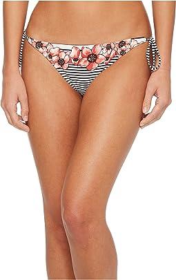 Vince Camuto - Blossom Stripes String Bikini Bottom