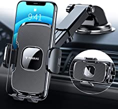 Best TORRAS [Ultra-Durable] Cell Phone Holder for Car, Universal Car Phone Mount Dashboard Windshield Vent Compatible with iPhone 12 11 Pro Max XS X XR 8 SE, Samsung Galaxy S20+Ultra S10 Note 10 Plus &All Review