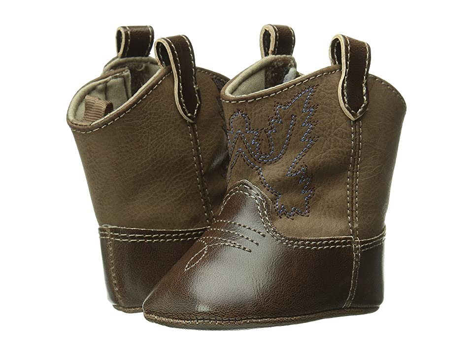 Baby Deer Western Boot (Infant) (Brown) Cowboy Boots