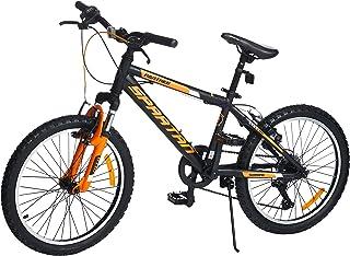 """SPARTAN 20 inch Panther MTB Bicycle - Matte Black, SP-20-PAN, 20"""""""