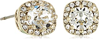 MESTIGE Women Crystal Gold Halle Earrings with Swarovski Crystals