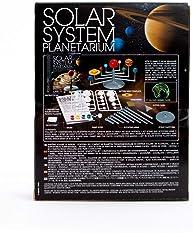 4M 3427 Solar System Planetarium - DIY Glow In The Dark Astronomy Planet Model Stem Toys Gift for Kids & Teens, Girls...