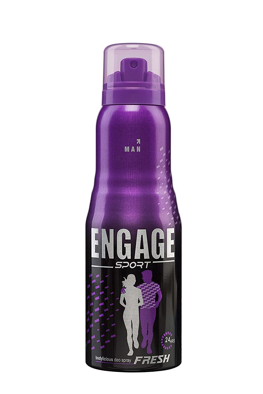 メイエラ男区画Engage Sport Fresh Deodorant Spray For Men, 150ml / 165ml (Weight May Vary)