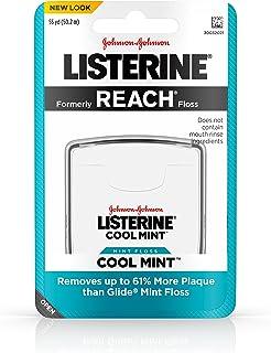 Listerine Dental Floss, Cool Mint (Pack of 6)